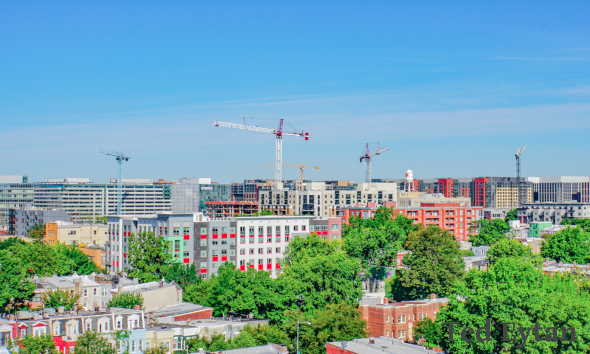 Slideshow Photo (6 of 7)Skyline view of Construction with Cranes; Strengthen the security of the information ecosystem